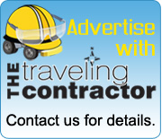 Advertise with The Traveling Contractor